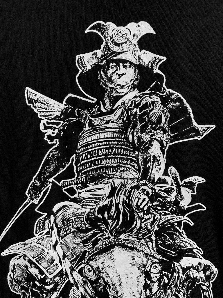 平田弘史『信長絵巻Tシャツ』